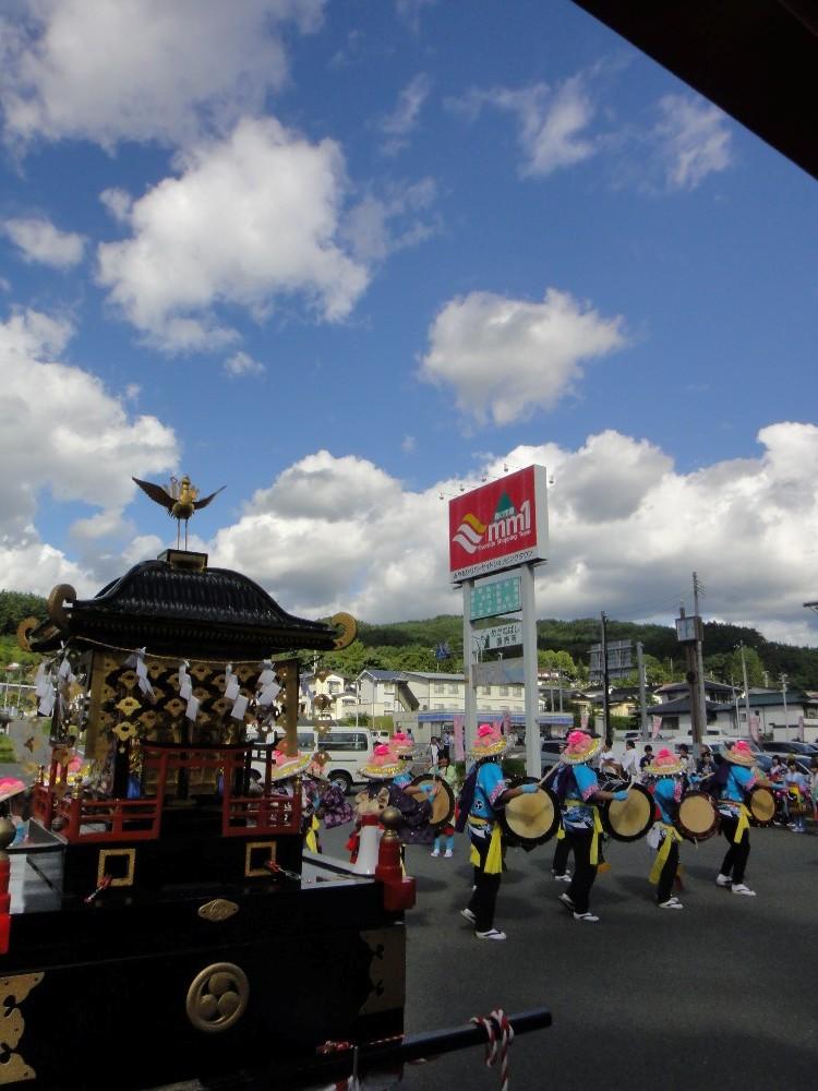 砥森神社例祭(渡御)_c0111229_1954037.jpg