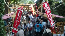 「広島・熊野 筆まつり」に行くー_c0141944_231491.jpg