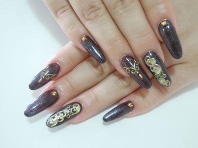 Violet Nail_a0239065_12381494.jpg
