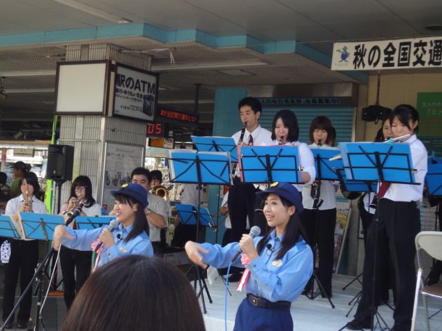 9月24日(土) JR逗子駅前に あの人たちが・・_e0006772_2132507.jpg