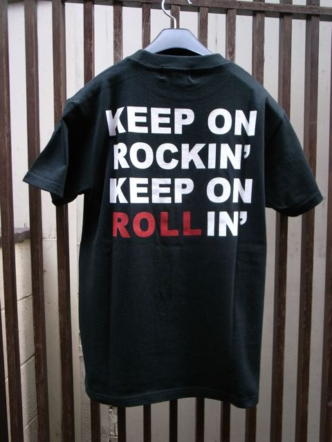 BlackLeatherRiot 「ROLL」T-Shirts_d0181776_20292117.jpg