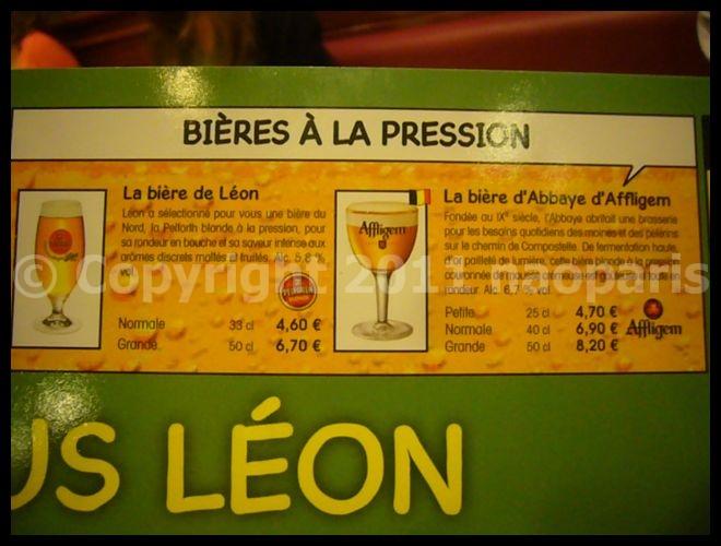 【LEON】金曜日の夜はLEONでムール・フリッツ(サンジェルマン界隈)PARIS_a0014299_2122882.jpg