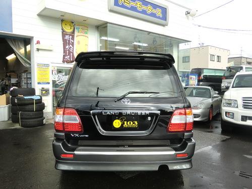 ランクル 100 60周年記念特別限定車  ランクル 札幌 北海道_b0127002_2163771.jpg
