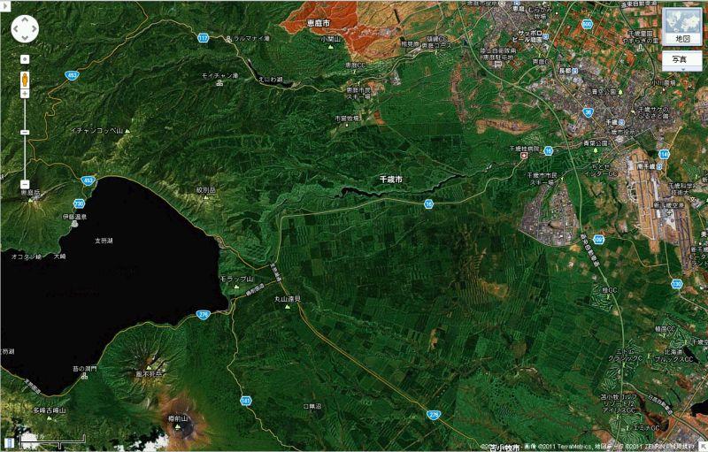 千歳空港から初秋の支笏湖へ_c0025115_223580.jpg