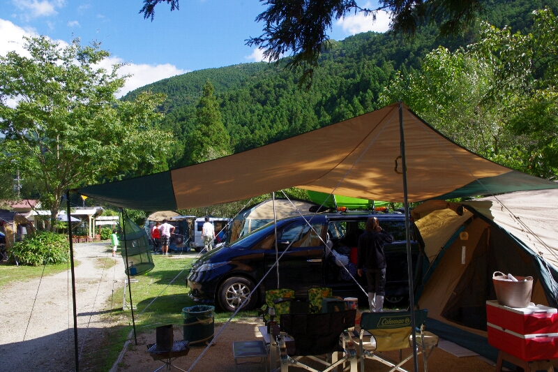 秋の天川村キャンプ(1日目)_c0113733_22292444.jpg
