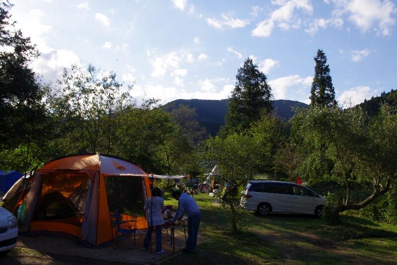 秋の天川村キャンプ(1日目)_c0113733_2232353.jpg