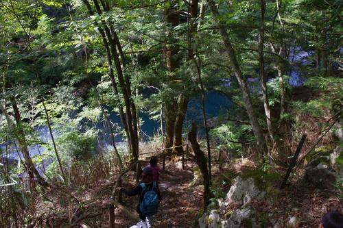 秋の天川村キャンプ(2日目)_c0113733_2316412.jpg