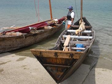奥武島の帆掛サバニレース_d0100638_16404968.jpg