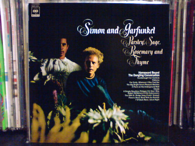 Parsley, Sage, Rosemary And Thyme / Simon And Garfunkel_c0104445_2162115.jpg