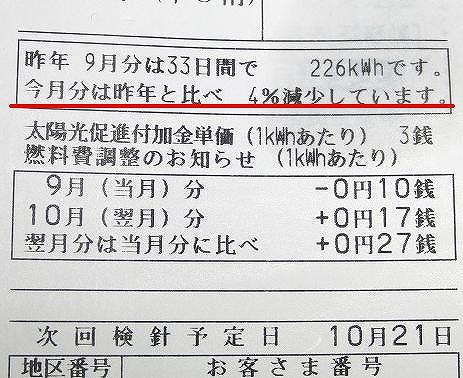 3.11同時多発地震 88 [去年との節電比が東電明細書に]_d0061678_2347542.jpg