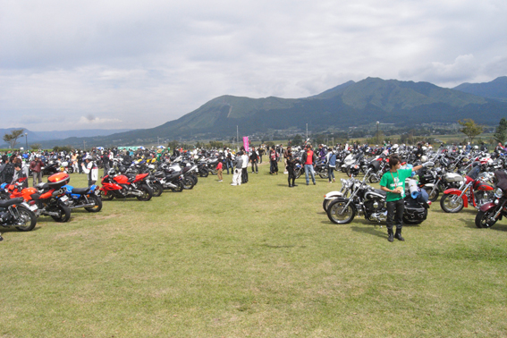 速報!本日開催PEACE RIDE2011!!from Marky_b0196590_17581053.jpg