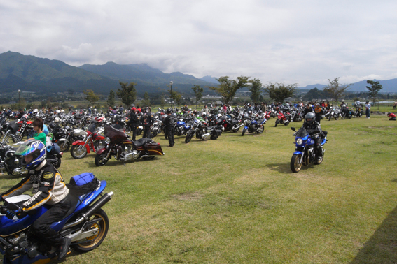 速報!本日開催PEACE RIDE2011!!from Marky_b0196590_17582426.jpg