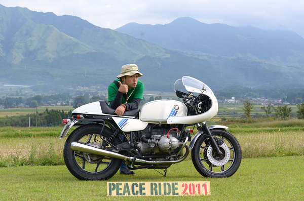 速報!本日開催PEACE RIDE2011!!from Marky_b0196590_2042035.jpg