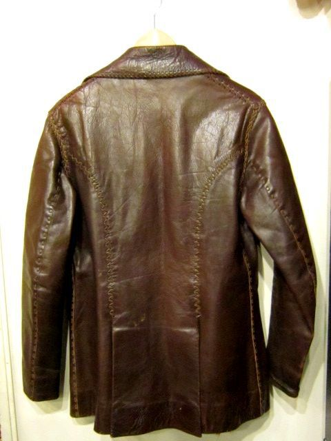 DARK BROWN 70\'S NORTH BEACH LEATHER。_c0078333_22581618.jpg
