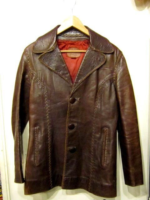DARK BROWN 70\'S NORTH BEACH LEATHER。_c0078333_22581649.jpg