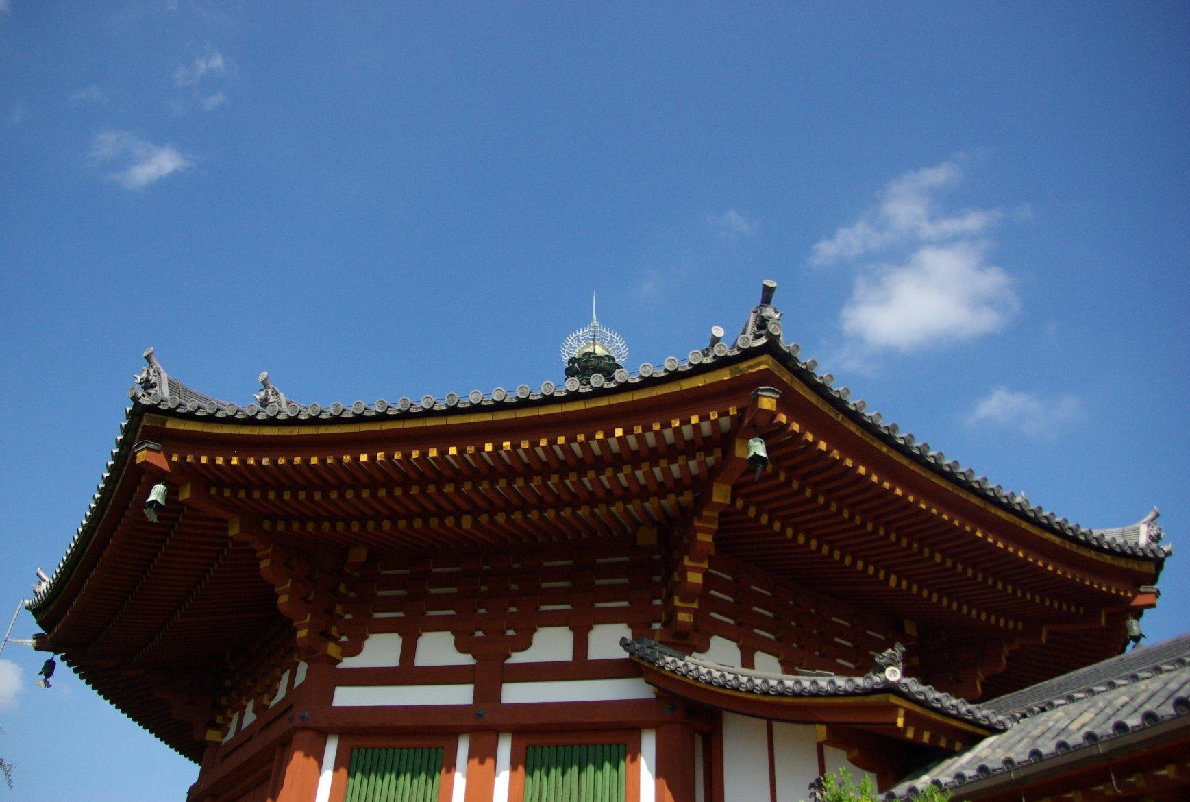 Photo-sketch of Nara: 興福寺/Kohfuku-ji _e0140365_2257886.jpg