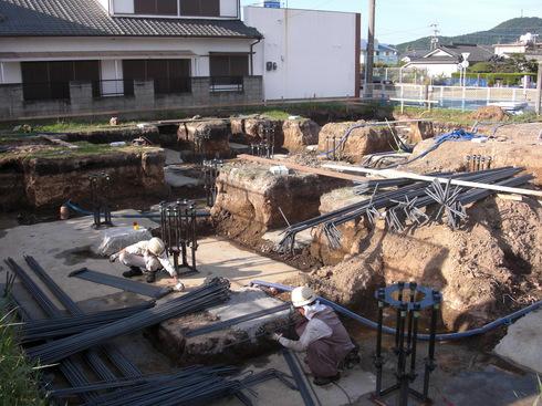 工事進捗中~南薩の店舗_d0174072_12391394.jpg