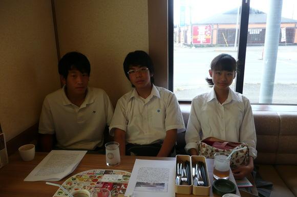 9月26日   茗渓学園中学・高等学校生徒平和学習_d0249595_981449.jpg