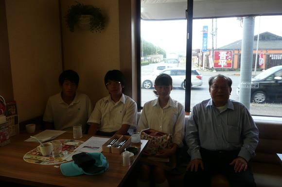 9月26日   茗渓学園中学・高等学校生徒平和学習_d0249595_99046.jpg