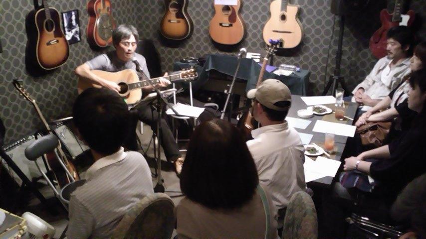 「まつりっこ@桜山」と店内ライブ_b0169403_19443473.jpg