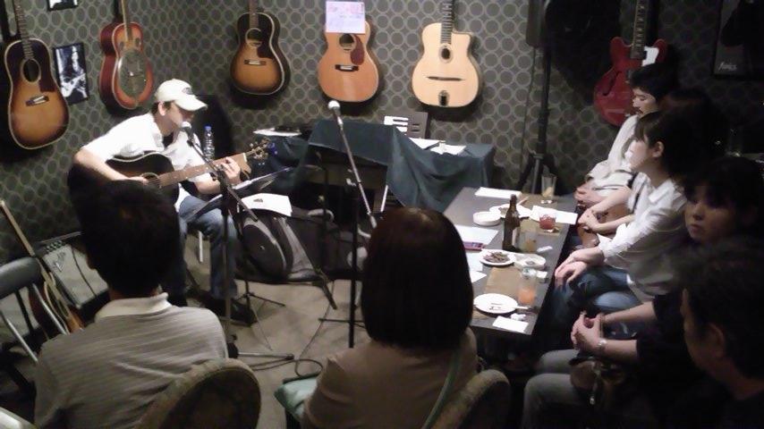 「まつりっこ@桜山」と店内ライブ_b0169403_19503175.jpg