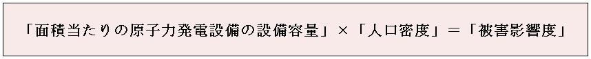 原子力発電所の事故による周辺地域への被害影響度について_e0223735_1619269.jpg