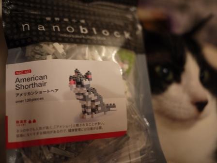 世界最小級ブロックnanoblock猫 空アメショグーグー編。_a0143140_22185672.jpg