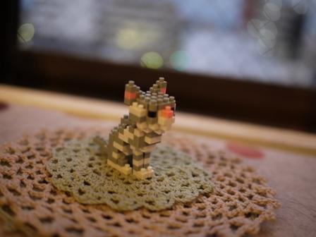 世界最小級ブロックnanoblock猫 空アメショグーグー編。_a0143140_22281987.jpg