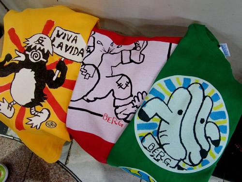 新作!ベルクオリジナルTシャツ♪のらカバシリーズより♪_c0069047_2239511.jpg