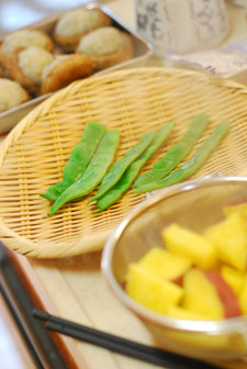 休日ブログ*秋のお料理教室_a0115684_196471.jpg