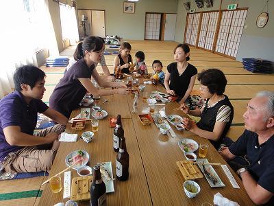 「浦佐やな」で昼食   八海山水石展見学  _b0092684_212292.jpg