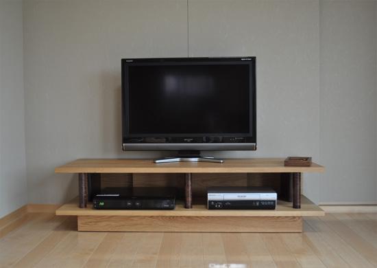 テレビボード、納品写真_e0115686_18421318.jpg