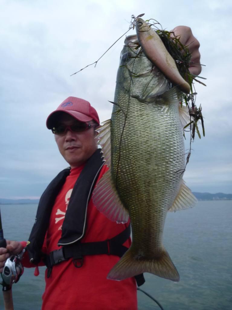 琵琶湖TEST釣行記 『台風前後の琵琶湖』_d0145899_21253958.jpg