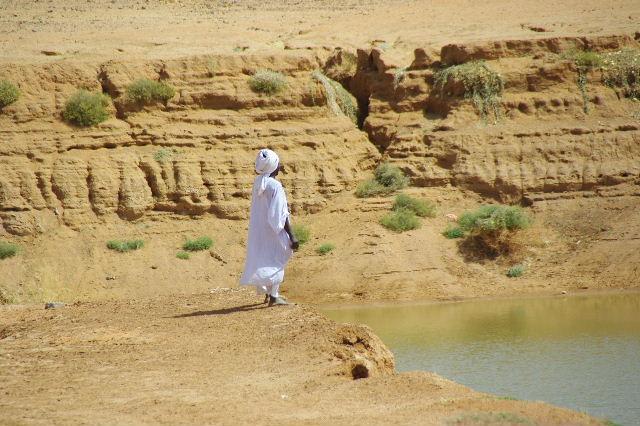 【スーダン周遊】 ムサワラット遺跡 (6) 湧水池の風景_c0011649_20352720.jpg