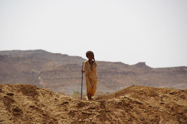 【スーダン周遊】 ムサワラット遺跡 (6) 湧水池の風景_c0011649_20372221.jpg