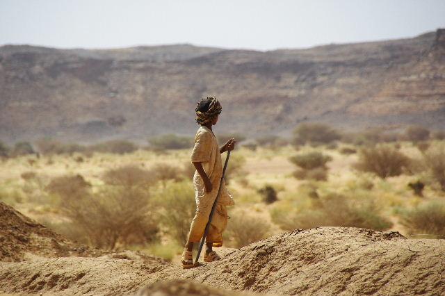 【スーダン周遊】 ムサワラット遺跡 (6) 湧水池の風景_c0011649_20381159.jpg
