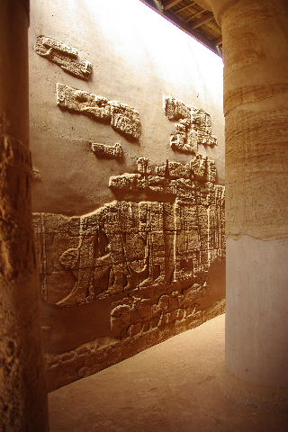【スーダン周遊】 ムサワラット遺跡 (5) ライオン神殿_c0011649_434899.jpg