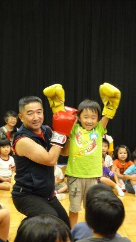 Boxing man in a kindergarten_c0157558_1219496.jpg
