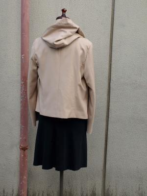 saisir by Akiko Iwata 2011A/W フードジャケット_e0122680_19543372.jpg