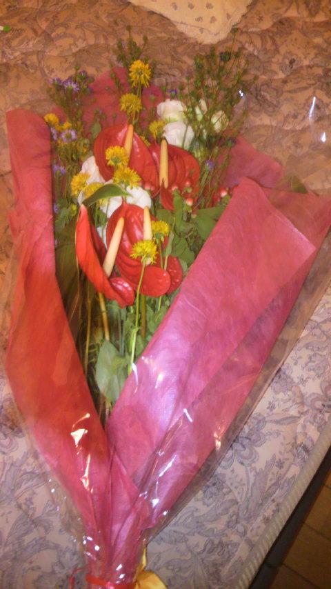 花もらっちゃいました_a0075684_11192537.jpg