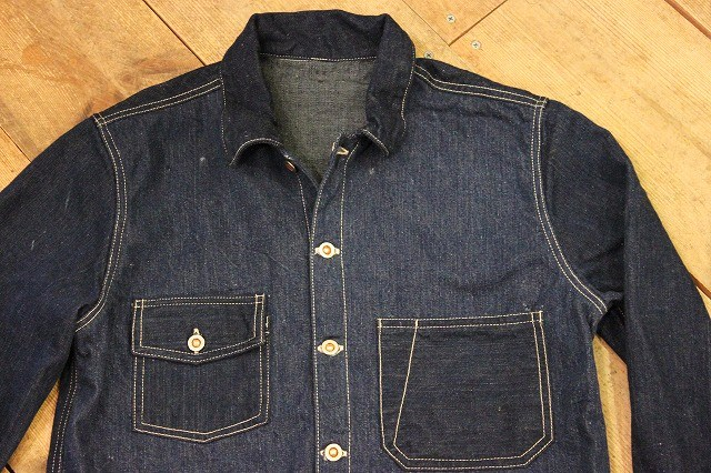 1920\'s style CUSTON DENIM SHIRT その3_d0121303_152954.jpg
