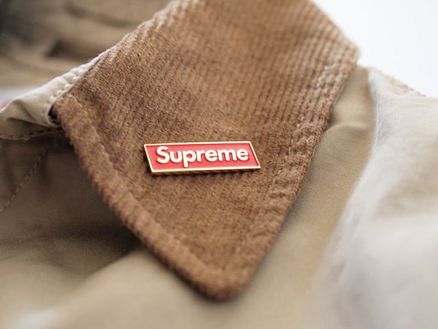 Supreme LEOPARD LINED TRENCH COAT_f0010106_22543174.jpg
