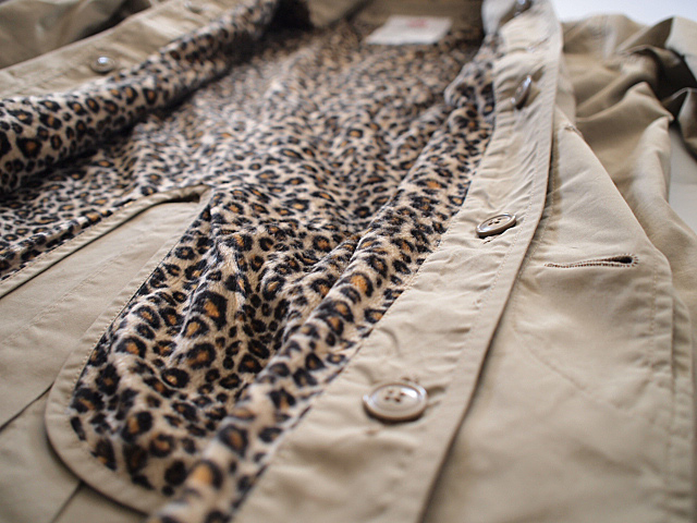 Supreme LEOPARD LINED TRENCH COAT_f0010106_22551153.jpg