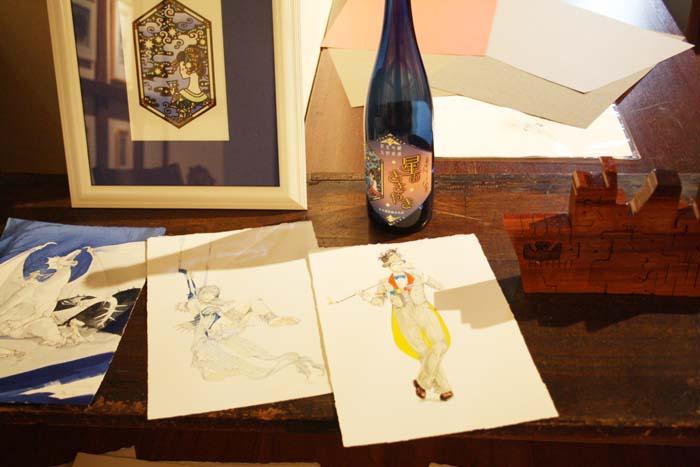 蔵織・スタッフ水上祐子(細密画)の作品展がj始まります。_d0178448_746453.jpg