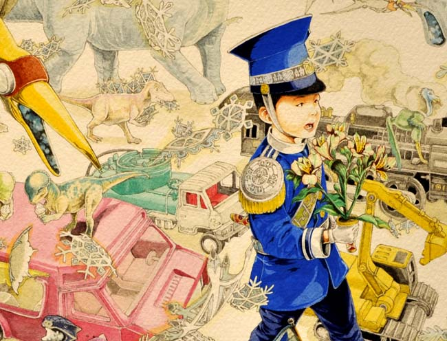 蔵織・スタッフ水上祐子(細密画)の作品展がj始まります。_d0178448_90092.jpg