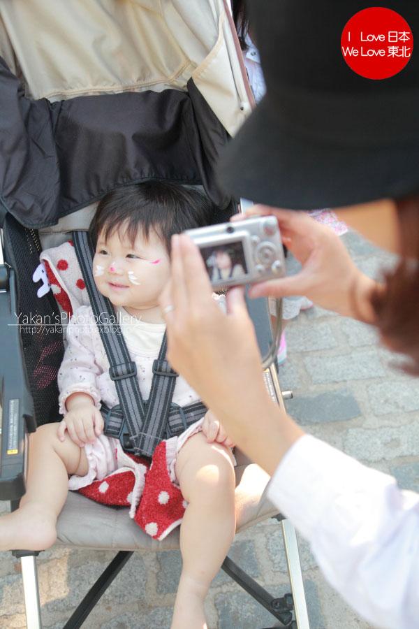 飛騨古川「きつね火まつり」2011 02きつねメイク編~一部訂正~_b0157849_9105956.jpg