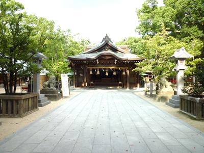 宇美八幡宮(1)神功皇后が出産したところと伝える_c0222861_1116857.jpg