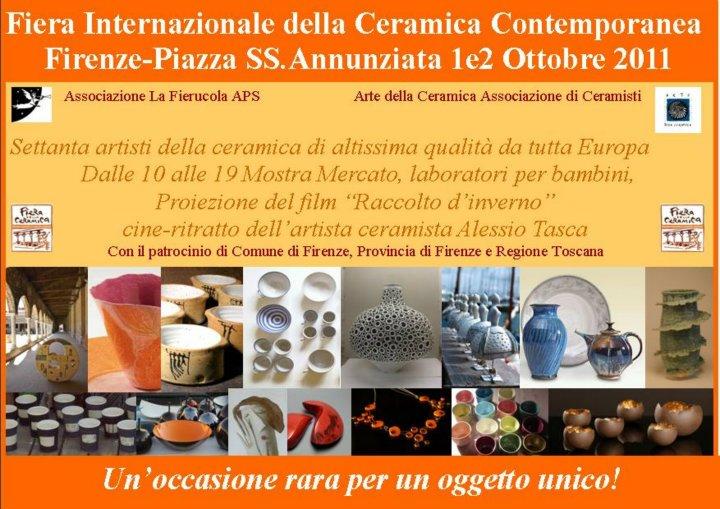 秋を感じて。。。 フィレンツェで陶芸市があります!_c0179785_3494855.jpg