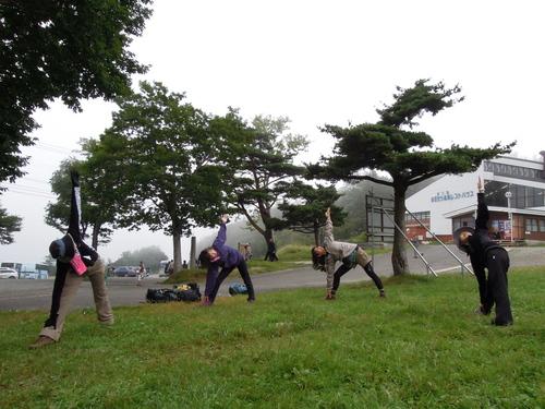 山ヨガ in 安達太良山_e0231387_20221951.jpg
