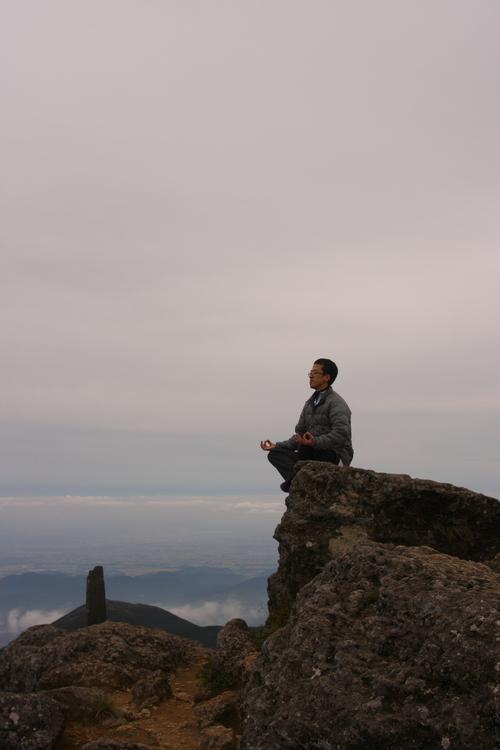 山ヨガ in 安達太良山_e0231387_2040975.jpg